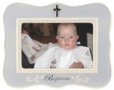 Baptism Photo Frame, Blue  -
