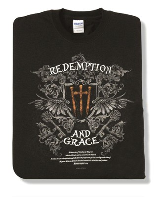 Redemption 2, Black Short-sleeve Tee Shirt, Large (42-44)  -