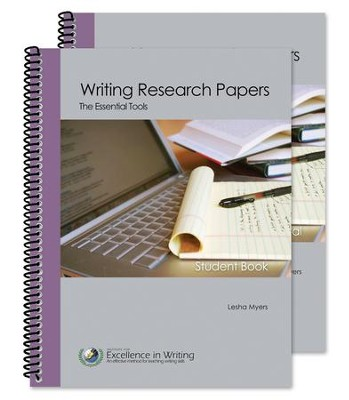 Writing Research Papers: The Essential Tools (Teacher/ Student Combo Package)  -