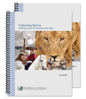Following Narnia: Writing Lessons in Structure, Style and Grammar--Teacher/Student Combo Package  -     By: Laura Bettis