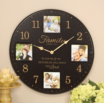 Family, As For Me and My House Clock  -