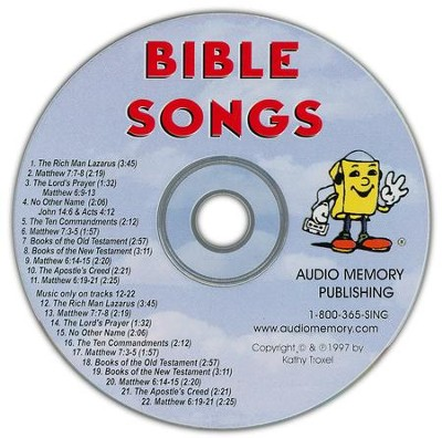 Audio Memory Bible Songs CD Only   -     By: Kathy Troxel