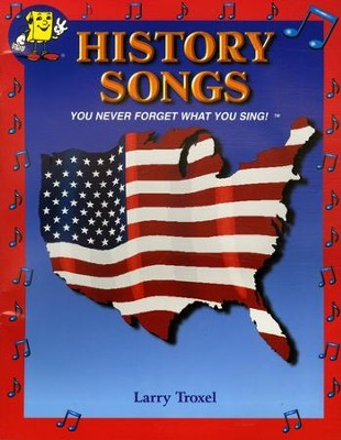 Audio Memory History Songs Book Only   -     By: Larry Troxel