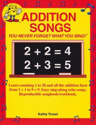 Audio Memory Addition Songs Book Only   -     By: Larry Troxel
