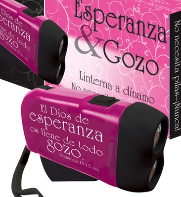 Esperanza y Gozo, Linternas Cargadas Manualmente  (Hope & Joy, Hand Powered Flashlight)  -