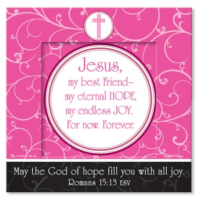 Hope & Joy Mini Magnet Frame  -