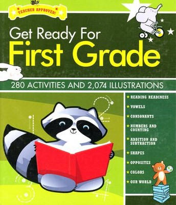 Get Ready for First Grade   -