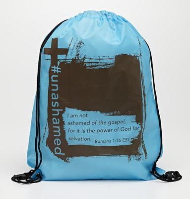 #Unashamed Drawstring Backpack  -