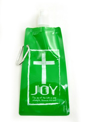 Joy Reusable Foldable Water Bottle  -