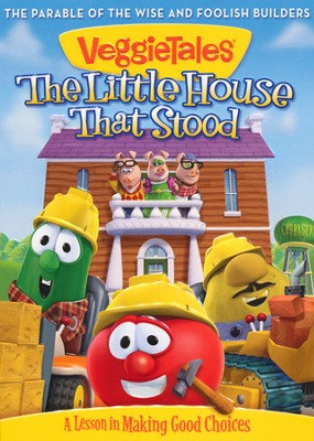 The Little House That Stood--VeggieTales DVD  - Slightly Imperfect  -