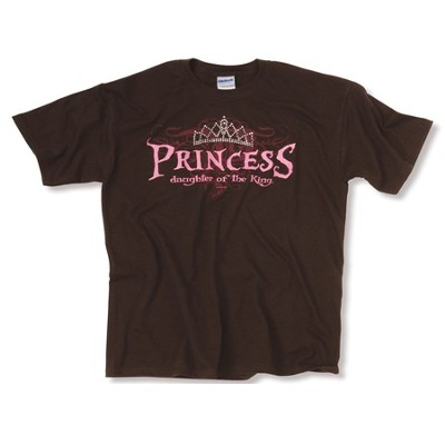 Princess Rhinestone Tee Shirt, Youth Medium   -