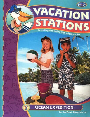 BJU Vacation Stations Book 3: Ocean Expedition Grades 2-3   -