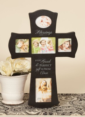 Blessings Photo Cross  -