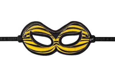 Bumblebee Dress Up Mask, Yellow  -