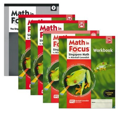 Math in Focus Grade 2 Homeschool Package (with Answer Key)  -