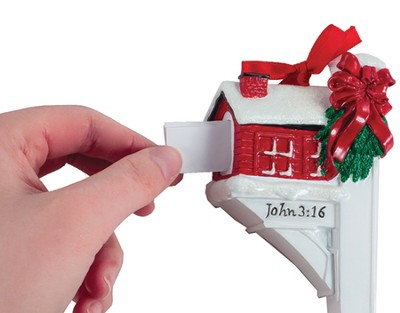 Message From God, Mailbox Ornament   -