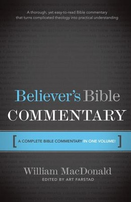 Believer's Bible Commentary - eBook  -     By: William MacDonald
