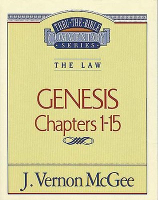 Genesis I - eBook  -     By: J. Vernon McGee