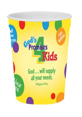 God's Promises for Kids Tumbler  -
