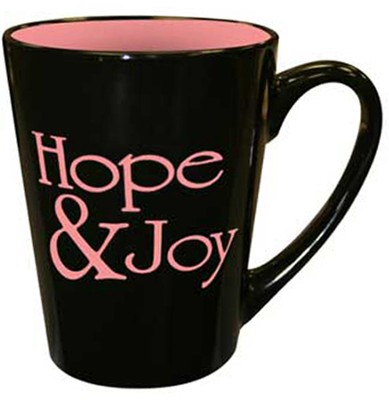Hope & Joy--Ceramic Mug   -