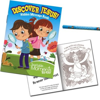 Discover Jesus Activity Book  -