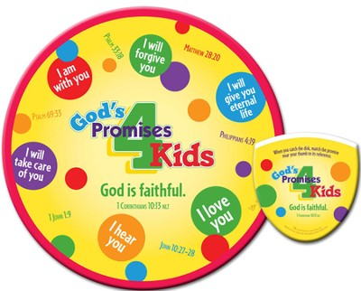God's Promises for Kids, Flying Disc  -