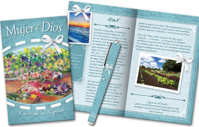 Mujer de Dios Devocional y Lapicero  (Woman of God Devotion Book and Pen)  -