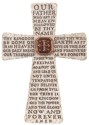 Lords Prayer Cross  -