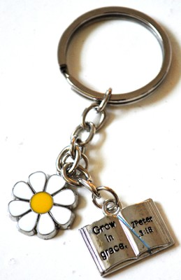 Woman of God Keychain  -