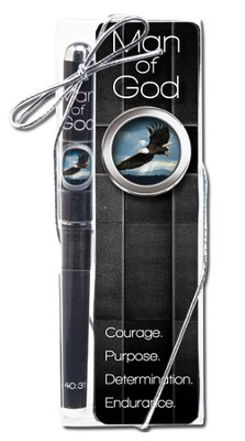 Man of God Bookmark and Pen Set  -