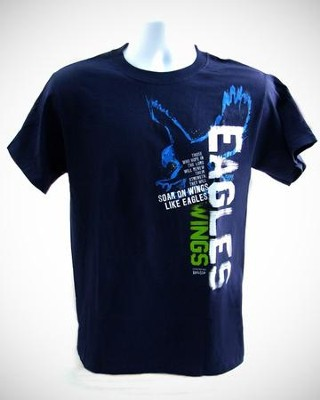 Eagles Wings Shirt, Navy, Medium  -