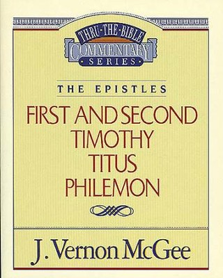 1 & 2 Timothy / Titus / Philemon - eBook  -     By: J. Vernon McGee