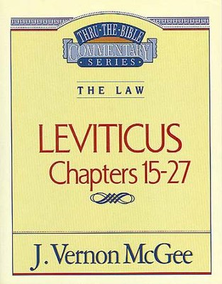 Leviticus II - eBook  -     By: J. Vernon McGee