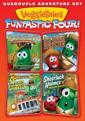 VeggieTales Funtastic Four!, 2-Disc Set    -