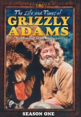 The Life and Times of Grizzly Adams: Season 1, DVD Set    -