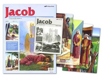 Jacob Flash-a-Card Set (for use with Giants of Faith Middler Grades 3-4 Sunday School Curriculum)  -
