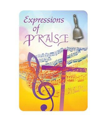 Music Expressions of Praise Handbell Lapel Pin  -