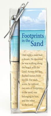 Footprints Pen and Bookmark Set  -