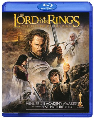 Lord of the Rings: The Return of the King, Blu-ray    -