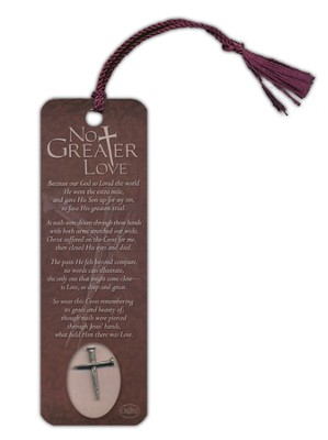 No Greater Love Bookmark and Lapel Pin  -