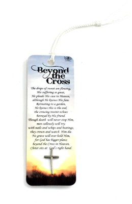 Beyond the Cross Bookmark and Lapel Pin  -