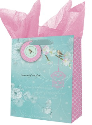 Precious and Loved Gift Bag, Medium  -