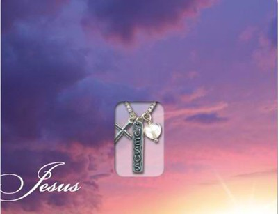 Jesus, Pendant, Mailable Card  -
