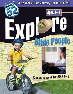 Explore Bible People: 52 Bible Lessons for Ages 4-6   -     By: Kathy Downs