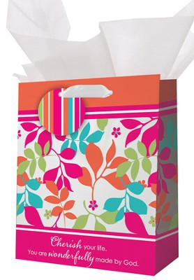 Cherish Your Life Gift Bag, Small  -