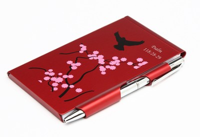 Psalm 118:28-29 Metal Note Case and Pen Set  -
