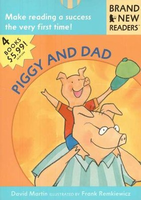 Piggy and Dad, Brand New Readers Series   -     By: David Martin