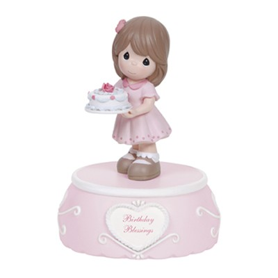 Precious Moments, Birthday Blessings, Musical Figurine  -