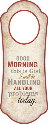 Good Morning, This Is God, Door Hanger   -