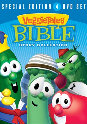 Bible Story Collection, 4-DVD Set   -